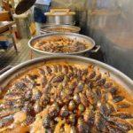 鮮やか、べっ甲色 フナの甘露煮、古河で最盛期