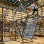 高さ5メートルの放置自転車オブジェ、展示場所求む 取手の芸術家・東さん