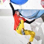 【ボルダリング】森秋彩が悔しさバネに圧勝初V 視線は2024年パリ五輪