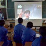 常陸太田・太田中美術部員 「宙があるまち」作品化 制作スタート 2月のイベントで披露