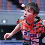 卓球全日本男子シングルス4回戦 張本、丹羽の五輪内定組は快勝スタート