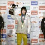ボルダリング・ジャパン杯 女子 森 初の日本一