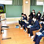 マータイさんの活動など学ぶ 飯坂小と月輪小で授業