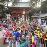 春告げる樫棒の音 鹿島神宮で祭頭祭