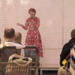 土浦で防災イベント 林家まる子さん登場 避難所体験や震災写真展も