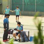 男子団体戦 3月22日の結果【第43回全国選抜高校テニス大会】