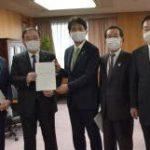 日鉄高炉2基維持を 茨城知事ら、梶山経産相に要望