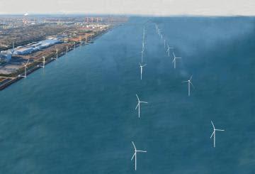 洋上風力、27年度稼働へ 茨城・鹿島港沖 発電年間16万キロワット