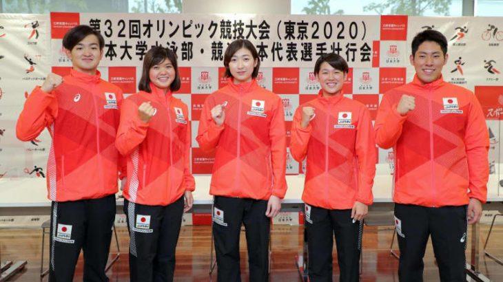 池江璃花子「世界に戻ってきたこと証明」日大水泳部の壮行会で改めて決意表明