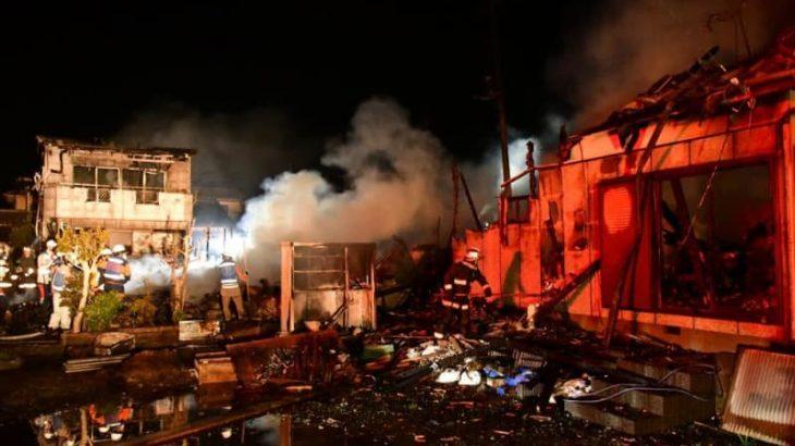 【速報】高萩の住宅6棟火災 全焼の91歳女性方から1遺体