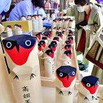 悪いことを「うそ」にしちゃおう!福島・高畑天満宮で鷽鳥販売