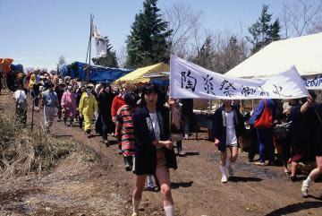 笠間の陶炎祭40回目 自主独立、平等貫く 焼き物の祭典、歴史回顧