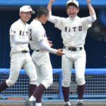 《春季関東高校野球》茨城県大会 水戸一 45年ぶり4強