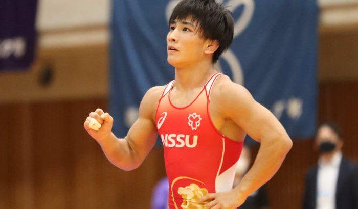 <レスリング>【5.27~30全日本選抜選手権・展望(29)】アジア3位の竹下雄登(日体大)が飛び抜けるか…男子フリースタイル57kg級