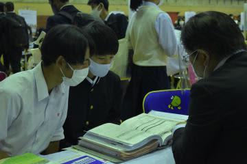 入試や学校生活説明 高校生向け進学相談会 水戸