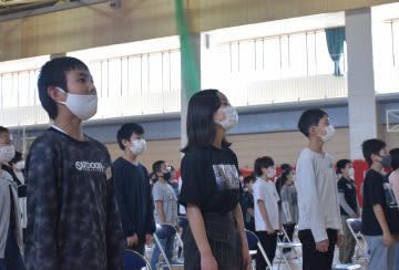 美乃浜学園で開校式 心弾ませ新校歌斉唱 ひたちなか