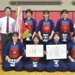 茨城県高校総体 剣道女子団体 守谷、21大会連続V