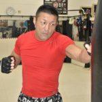 格闘家・桜井選手(水戸出身) 49歳王者、統一戦挑む 20日、けが乗り越え復帰