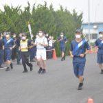 茨城県警 聖火リレー警備確認 引き継ぎや伴走の動き