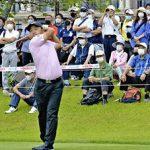 男子ゴルフ「福島オープン」開幕 2年ぶり開催、感染対策徹底
