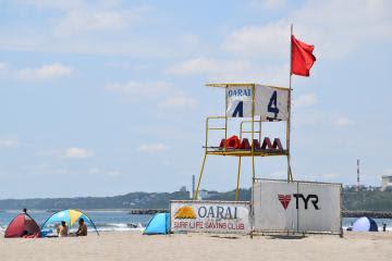 22日から茨城県内3カ所 2年ぶり海開き コロナ対応、にぎわい期待 サメ対策、当面遊泳禁止