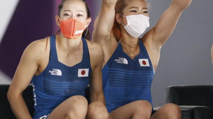 東京五輪 Sクライミング女子・野口、銅 奮闘に地元興奮 茨城・龍ケ崎