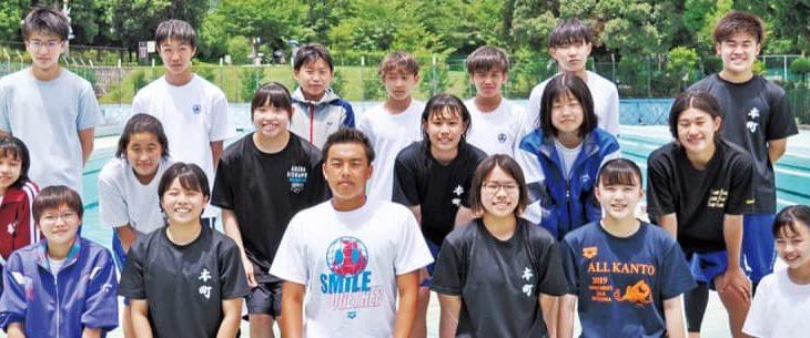 秦野市内中学生4選手 水泳と陸上で全国へ