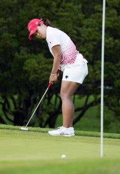 東京五輪 ゴルフ女子・畑岡、見せた粘り 地元の茨城・笠間 諦めぬ姿、関係者「感動」