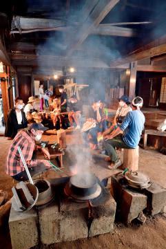 《いばらき紀行》茨城県城里町 文化財守る煙