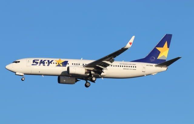 スカイマーク、9月運航率は72.8%に低下 コロナ感染拡大受け
