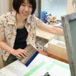 茨城・つくばの日高衣紅さん 国際版画展で最高賞 日常の「会話」モチーフ