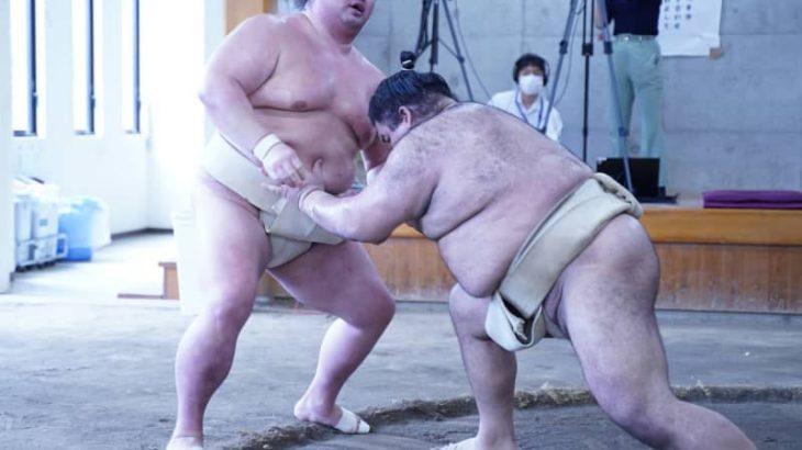 【大相撲】高安が合同稽古で正代を圧倒「力を出し切っていい相撲取れました」