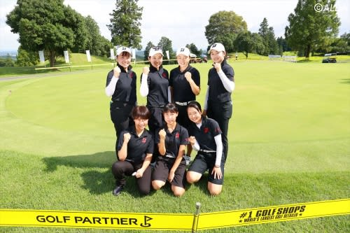 海外メジャー出場者に日本ジュニア・女子アマ上位者もメンバー入り 明秀日立が狙うは『日本一』のみ!【高校ゴルフ選手権・女子】