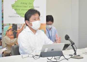 夏休み明け学校 茨城県教育長、リモート学習を検討 部活動原則禁止継続も