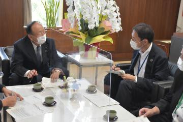 処理水放出 東電、茨城県議会幹部に説明 風評被害 賠償方針変わらず