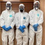 新型コロナウイルス感染現場の消毒作業スタッフを9月1日より現状の12名から17名体制へ増員