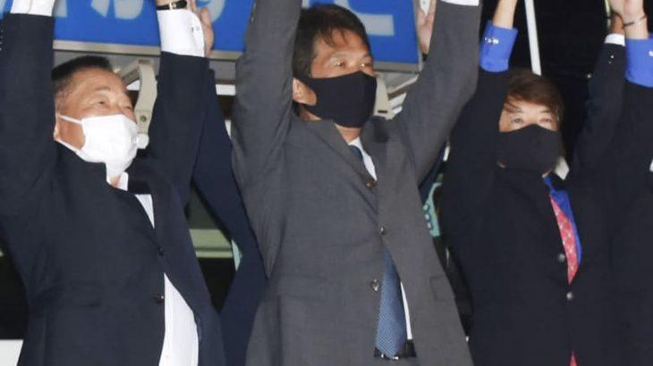 茨城県知事、大井川氏が再選確実