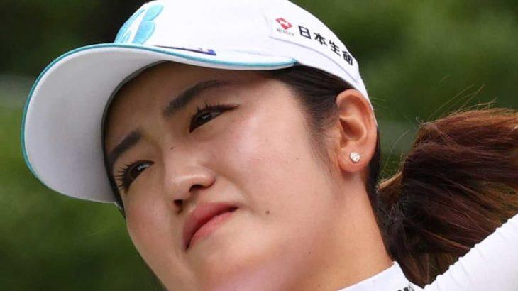 【日本女子プロ】稲見萌寧  メジャー初制覇へ首位と4打差で決勝ラウンドへ