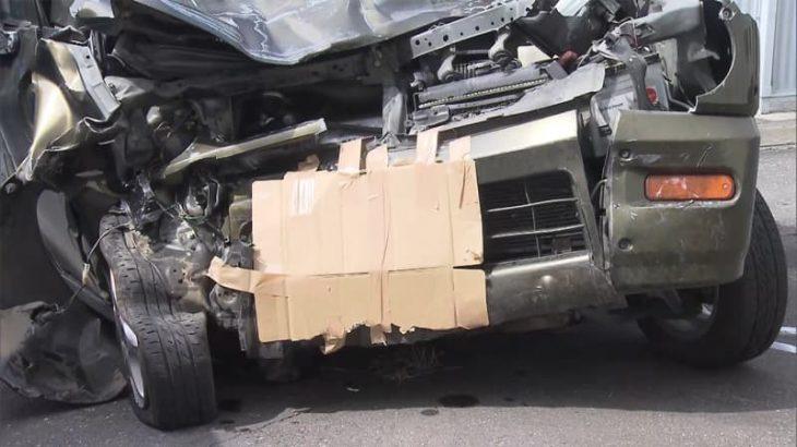 軽乗用車とトラック正面衝突 20代女性死亡 茨城・かすみがうら市