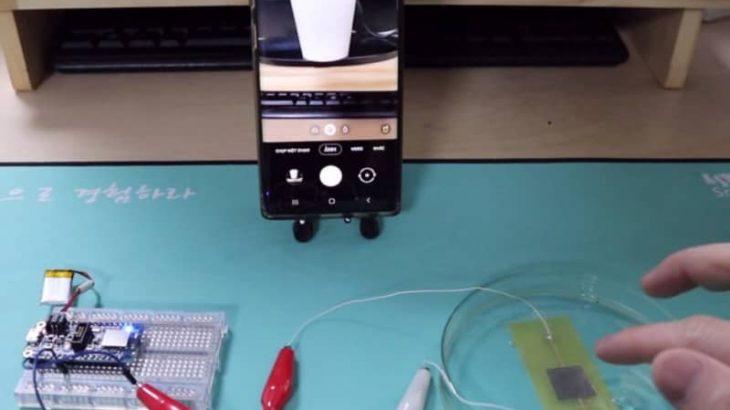 軟らかく身につけられる防水圧力センサーの研究発表 最先端材料科学研究の専門誌が韓国の論文紹介