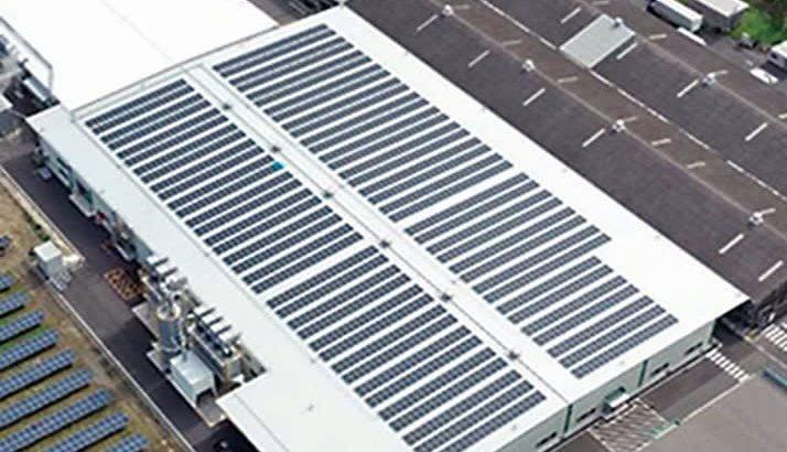 住友林業クレスト、鹿島工場で100%再エネ化=太陽光発電と非化石証書で実現