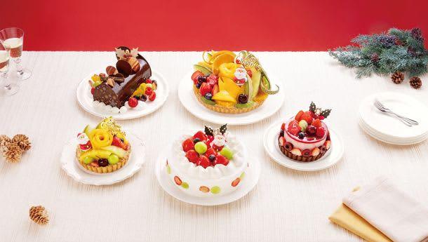 果物専門店こだわりのフルーツを使ったクリスマスタルト「フルーツピークス」全店で10月1日(金)より予約開始