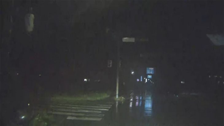 台風16号北上中 強風に注意 千葉・茨城で停電続く