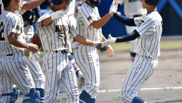 秋季関東高校野球県予選《準決勝》桐一と健大高崎が関東切符
