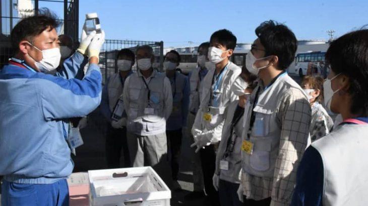 茨城県東海村民会議 福島第1を視察 廃炉の現状、課題学ぶ