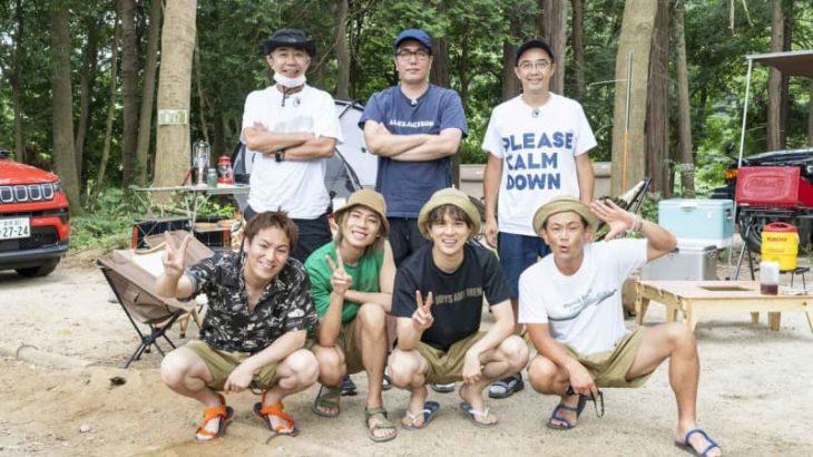 【番組ロケ密着】「おぎやはぎのハピキャン ノリさんとキャンプしてみましたSP」!ココリコ遠藤・狩野英孝・ボイメンも参加して「木梨の貝。」もついて来ちゃったキャンプ!