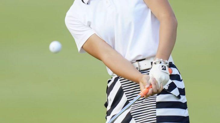女子ゴルフ、アマの佐藤ら首位