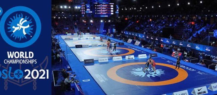 <レスリング>2021年世界選手権(ノルウェー・オスロ)/激戦の跡