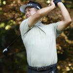 男子ゴルフ、池田とノリスが首位