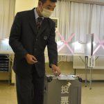衆院選 江戸崎総合高 高校生が託す1票 放課後に期日前投票 茨城